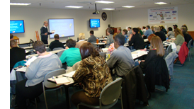 Maryland Occupation Safety and Health (MOSH) Outreach training room
