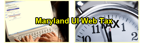Maryland Unemployment Insurance WebTax
